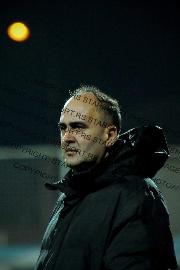 Fudbal Jelen Super League season 2016-2017<br /> Novi Pazar v Napredak (Krusevac)<br /> Sef strucnog staba Dragan Ivanovic<br /> Novi Pazar, 22. 10. 2016<br /> foto: Emir Sadovic/Starsportphoto &copy;