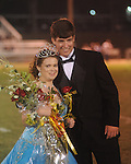 Amber Lawrence (left) escorted by John Jeffrey Nelson, was crwoned queen during Lafayette High vs. Byhalia in homecoming football action in Oxford, Miss. on Friday, September 24, 2010.
