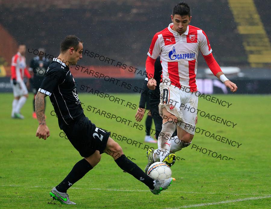 Fudbal Jelen Super League season 2015-2016<br /> Crvena Zvezda v Vozdovac<br /> Marko Grujic and Marko Jovanovic (L)<br /> Beograd, 28.11.2015.<br /> foto: Srdjan Stevanovic/Starsportphoto&copy;