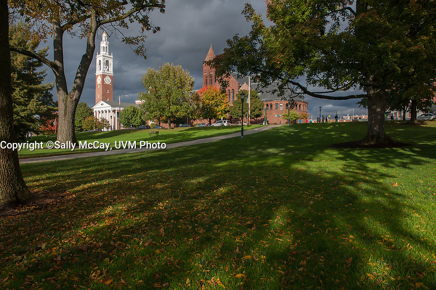 University Place, Fall UVM Campus