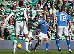 Celtic v St Johnstone...29.08.15  SPFL   Celtic Park<br /> Emilio Izaguirre and Michael O'Halloran<br /> Picture by Graeme Hart.<br /> Copyright Perthshire Picture Agency<br /> Tel: 01738 623350  Mobile: 07990 594431