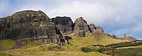 Rugged cliffs of the Storr, Trotternish, Isle of Skye, Scotland