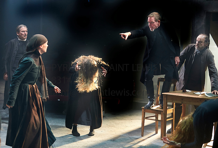 the transformation of abigail williams in the crucible a play by arthur miller A character study of abigail williams, a young, vicious and devious antagonist from the drama about the salem witch trials, the crucible by arthur miller.