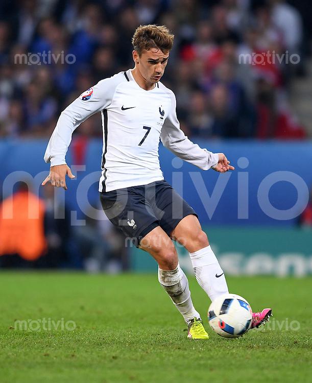 FUSSBALL EURO 2016 GRUPPE A IN LILLE Schweiz - Frankreich     19.06.2016 Antoine Griezmann (Frankreich)