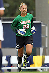 25 September 2011: Virginia's Chantel Jones. The University of Virginia Cavaliers defeated the University of North Carolina Tar Heels 1-0 in overtime at Fetzer Field in Chapel Hill, North Carolina in an NCAA Division I Women's Soccer game.