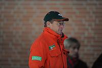 SCHAATSEN: DEVENTER: IJsbaan De Scheg, 27-10-12, IJsselcup, trainer Jillert Anema (BAM Univé Schaatsteam), ©foto Martin de Jong