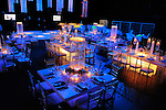 Bat Mitzvah decor at the Black Box at Suny Purchase, Westchester, New York..
