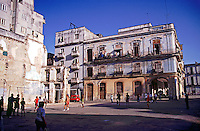 Old Havana Cuba, concrete Volleyball, Republic of Cuba,