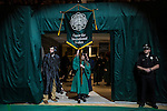 Students from International Studies prepare to process into the Ohio University Gradudate Commencement ceremony on Friday, May 1, 2015.  Photo by Ohio University  /  Rob Hardin