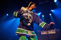 Snoop Dogg performs live during the first of two sold out shows July 20th, 2012, at Vancouver's Commodore Ballroom (Scott Alexander/pressphotointl.com)