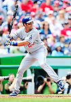 25 April 2010: Los Angeles Dodgers' infielder Casey Blake at bat against the Washington Nationals at Nationals Park in Washington, DC. The Nationals shut out the Dodgers 1-0 to take the rubber match of their 3-game series. Mandatory Credit: Ed Wolfstein Photo