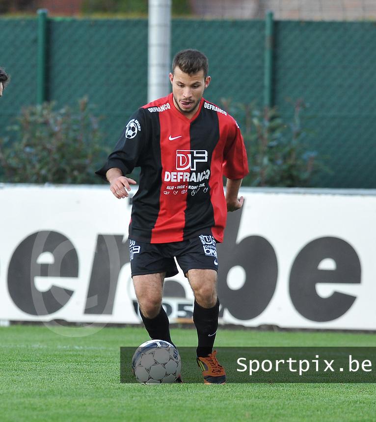 Winkel Sport : Yassine Delbergue.foto VDB / BART VANDENBROUCKE
