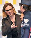 "Brad Pitt, Nov 09, 2011 : Brad Pitt, Angelina Jolie, Tokyo, Japan, Nobemver 9, 2011 : Actor Brad Pitt attends the Japan premiere for the film ""Moneyball"" in Tokyo, Japan, on Nobemver 9, 2011."