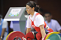 Kanae Yagi (JPN), AUGUST 14, 2011 - Weightlifting : The 26th Summer Universiade 2011 Shenzhen Women's -53kg at Complex Training Hall of Shenzhen Sports School, Shenzhen, China. (Photo by AFLO SPORT) [0006]