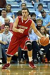 21 December 2013: Davidson's Tom Droney. The University of North Carolina Tar Heels played the Davidson College Wildcats at the Dean E. Smith Center in Chapel Hill, North Carolina in a 2013-14 NCAA Division I Men's Basketball game. UNC won the game 97-85 in overtime.