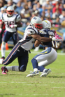 10/24/10 San Diego, CA: New England Patriots linebacker Jerod Mayo #51 during an NFL game played at Qualcomm Stadium between the San Diego Chargers and the New England Patriots. The Patriots defeated the Chargers 23-20.