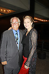 Opening Night -  Denise Pence (GL) and husband Steve see Follies, a James Goldman & Stephen Sondheim's classic musical on September 12, 2011 at the Marquis Theatre, New York City, New York. (Photo by Sue Coflin/Max Photos