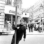 Paul Simon 1965.© Chris Walter.