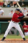 10 March 2006: Orlando Palmeiro, outfielder for the Houston Astros, at bat during a Spring Training game against the Washington Nationals. The Astros defeated the Nationals 8-6 at Osceola County Stadium, in Kissimmee, Florida...Mandatory Photo Credit: Ed Wolfstein..