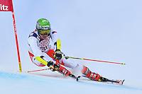 February 17, 2017: Ondrej BERNDT (CZE) competing in the men's giant slalom event at the FIS Alpine World Ski Championships at St Moritz, Switzerland. Photo Sydney Low