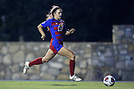 18 November 2016: Kansas's Katie McClure. The University of North Carolina Tar Heels played the University of Kansas Jayhawks at Fetzer Field in Chapel Hill, North Carolina in a 2016 NCAA Division I Women's Soccer Tournament Second Round match. UNC won the game 2-0.