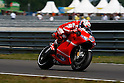 June 26, 2010 - Assen, Holland - Australian rider Casey Stoner powers his bike during the Dutch Grand Prix at Assen, Holland, on June 26, 2010. (Photo Andrew Northcott/Nippon News)..