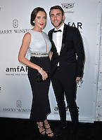 LOS ANGELES, CA. October 27, 2016: Anna Schafer &amp; Peter Schafer at the 2016 amfAR Inspiration Gala at Milk Studios, Los Angeles.<br /> Picture: Paul Smith/Featureflash/SilverHub 0208 004 5359/ 07711 972644 Editors@silverhubmedia.com