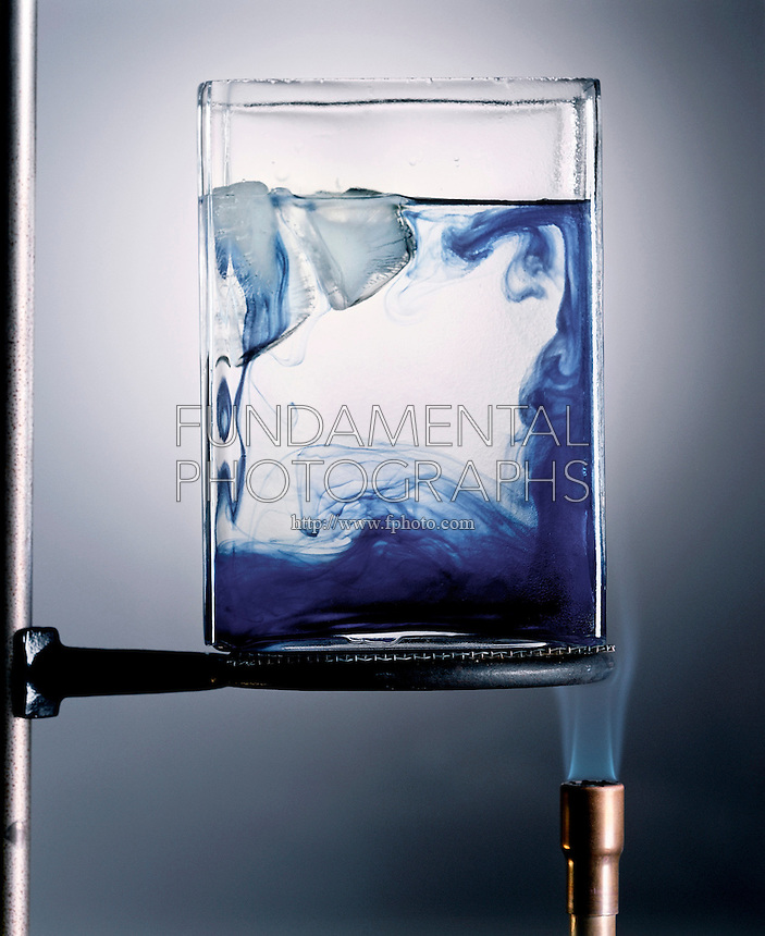CONVECTION PATTERN IN HEATED WATER<br />