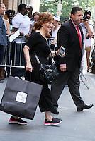 NEW YORK, NY-September 09: Joy Behar at the View in New York. NY September 09, 2016. Credit:RW/MediaPunch