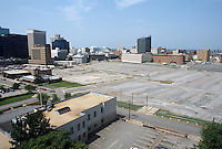 1996 July 31..Redevelopment..Macarthur Center.Downtown North (R-8)..MACARTHUR PROGRESS.LOOKING SOUTHWEST FROM ROTUNDA BUILDING...NEG#.NRHA#..