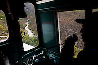 "The Huancayo-Huancavelica train is affectionately called ""tren macho"" – the macho train - because, according to the locals, the train is like a man on a binge that departs when he wants and arrives when he can, making reference to its once lack of punctuality."