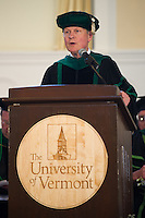 Dean Rick Morin, M.D. Class of 2012 commencement.