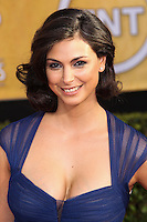 LOS ANGELES, CA - JANUARY 18: Morena Baccarin at the 20th Annual Screen Actors Guild Awards held at The Shrine Auditorium on January 18, 2014 in Los Angeles, California. (Photo by Xavier Collin/Celebrity Monitor)