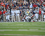 Ole Miss wide receiver Markeith Summers (16) makes a catch at Vaught-Hemingway Stadium in Oxford, Miss. on Saturday, October 30, 2010. Auburn won 51-31.