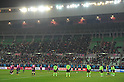 General view of a minutes of silence, APRIL 5, 2011 - Football : AFC Champions League Group G match between Jeonbuk Hyundai Motors 0-1 Cerezo Osaka at Nagai Stadium in Osaka, Japan. (Photo by AFLO).