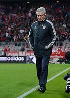 FUSSBALL  CHAMPIONS LEAGUE  VIERTELFINALE  HINSPIEL  2012/2013      FC Bayern Muenchen - Juventus Turin       02.04.2013 Trainer Jupp Heynckes (FC Bayern Muenchen)