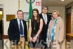 At the  Tralee Municipal District annual awards ceremony  on Friday,  in the Council chambers were l-r Michael Fleming, Monika Dukarska, World Coastal Rowing Gold medal, Jack Dukarski and Katarzyna Dukarska