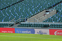 A general view of a bmi digital billboard alongside the pitch. The Clash, Aviva Premiership match, between Bath Rugby and Leicester Tigers on April 8, 2017 at Twickenham Stadium in London, England. Photo by: Patrick Khachfe / Onside Images