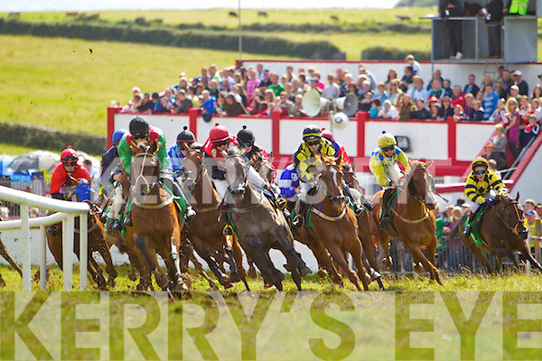 Horseracing at the Dingle races on Sunday..