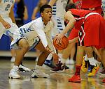 12-18-15, Skyline High School vs Bedford High School boy's varsity basketball