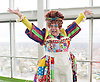 Dick Whittington <br /> publicity pictures <br /> taken from The View From The Shard, London Bridge Quarter, London, Great Britain <br /> press photocall <br /> 17th November 2016 <br /> <br /> <br /> Matthew Kelly as Sarah the Cook <br /> <br /> Photograph by Elliott Franks <br /> Image licensed to Elliott Franks Photography Services