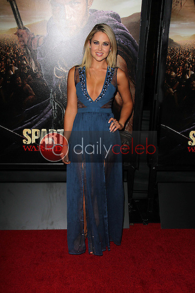 Anna Hutchison<br /> at the &quot;Spartacus: War Of The Damned&quot; Los Angeles Premiere, Regal Cinemas, Los Angeles, CA 01-22-13<br /> David Edwards/DailyCeleb.com 818-249-4998