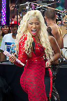 Nicki Minaj  en NBC's Today Show Toyota Concert