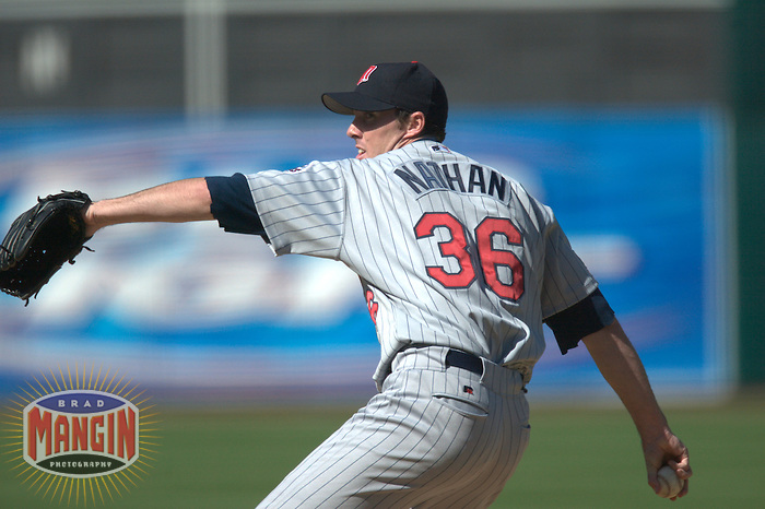 Joe Nathan. Minnesota Twins vs Oakland Athletics. Oakland, CA 5/8/2004 MANDATORY CREDIT: Brad Mangin