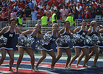 "An Ole Miss Rebelettes ""Lock the Vaught"" at Vaught-Hemingway Stadium in Oxford, Miss. on Saturday, September 24, 2011. Georgia won 27-13."