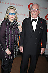 Carl Spielvogel and wife Barbaralee ..arriving at The New York Public Library 2008 Library Lions Benefit Gala on November 3, 2008 at The New York Public Library at 42nd Street and 5th Avenue.....Robin Platzer, Twin Images