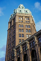 The Sun Tower building in Vancouver, British Colombia, Canada. The 17-story Sun Tower was built in 1911-1912.