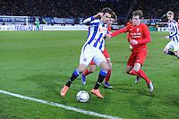 VOETBAL: HEERENVEEN: 06-02-16, Abe Lenstra Stadion, SC Heerenveen - FC Twente, uitslag 1-3, Mitchell Te Vrede, ©foto Martin de Jong