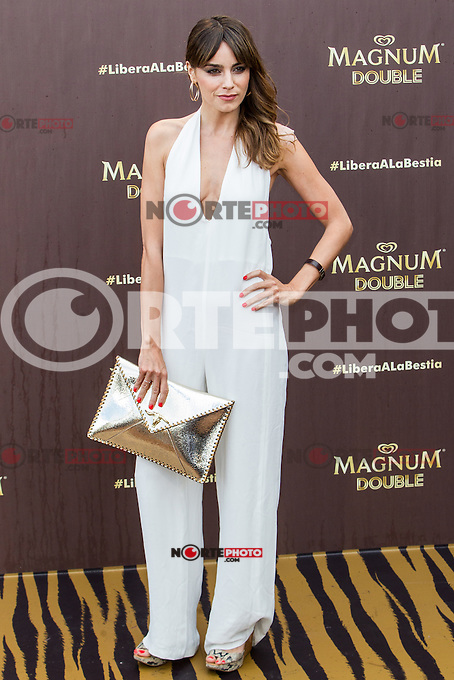 Irene Arcos during the launch party for the new range of Magnum ice cream at  ME Hotel Reina Victoria. Jun 15,2016. (ALTERPHOTOS/Rodrigo Jimenez) /NortePhoto.com