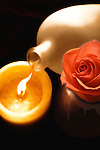 Flame and Rose